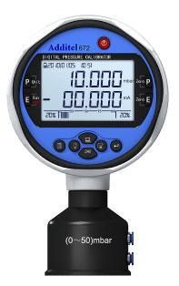 ADT672 Digital Pressure Calibrator by Additel in Australia