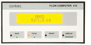 415 Flow ComputerContrec 415 Steam and Gas Flow Computer