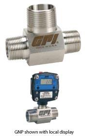 G Series Turbine Flow Meter (with with Display) Procon Instrument Technology