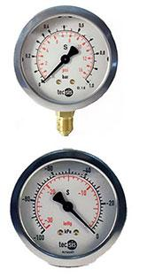 P1454 & P1453 Pressure Gauges by Tecsis from GTS Gauges