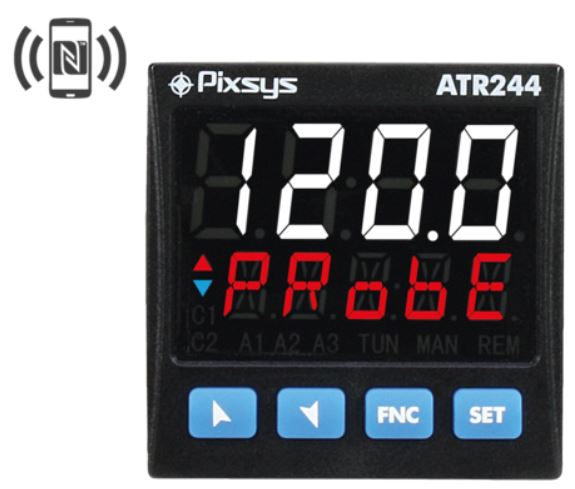 TR244 Temperature Controller by Pixsys